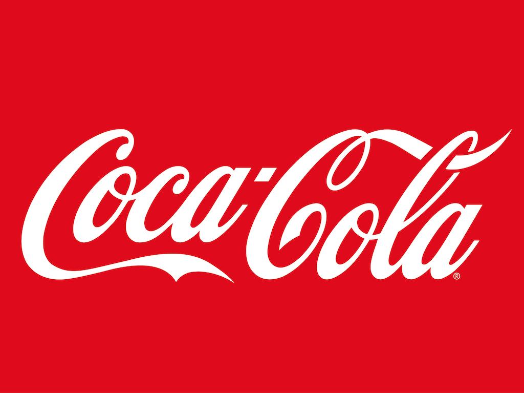 Red-background-white-logo