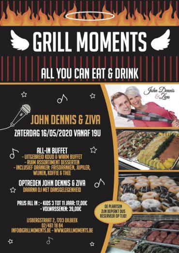 Grill Moments met optrede John Dennis en Ziva & DJ Fab