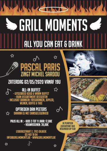 Grill Moments; Pascal Paris chante Michel SARDOU